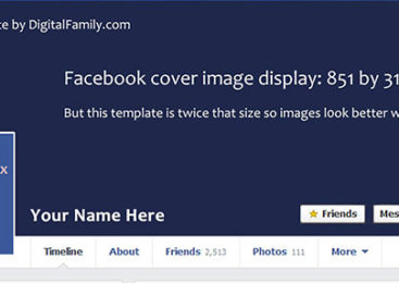 เทคนิคสำหรับทำและดาวน์โหลด Facebook Cover Timeline